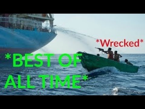 ALL TIME BEST  Somali Pirates VS Ship Security Compilation HD 2017