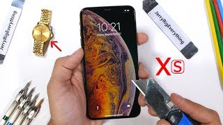 Video iPhone Xs MAX Durability Test - How weak is the big iPhone? MP3, 3GP, MP4, WEBM, AVI, FLV Oktober 2018