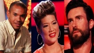 Why Tessanne Chin Made It To Top 10 .. #The Voice