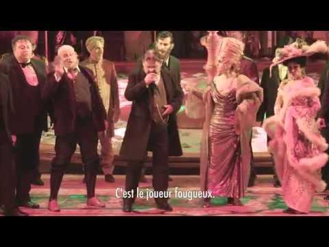 Le Joueur de Prokofiev à l'Opéra de Monte-Carlo - Une création racontée par ses maîtres d'oeuvre