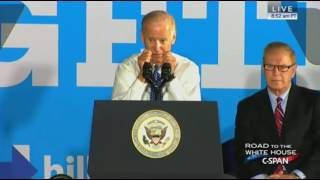 Warren (OH) United States  City pictures : Joe Biden Campaigns For Hillary Clinton In Warren Ohio FULL Speech