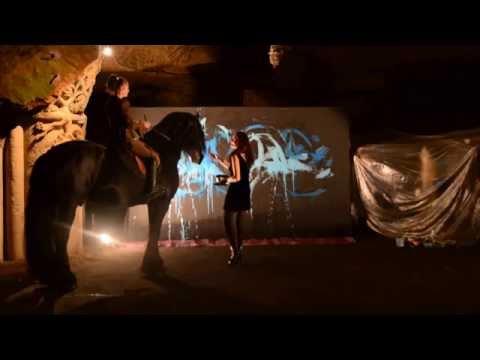 LiVe PaiNTinG aux Caves Bouvet Ladubay - 2015