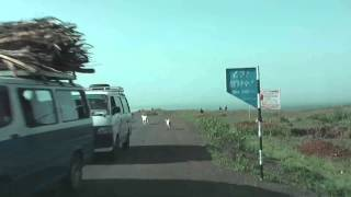 Overland Africa: Road From Arba Minch To Konso. First Good Tarmac, Later Potholes (2012)