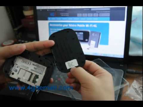 HUAWEI E5151 Mobile WLAN and Ethernet Router Unlocked Unboxing