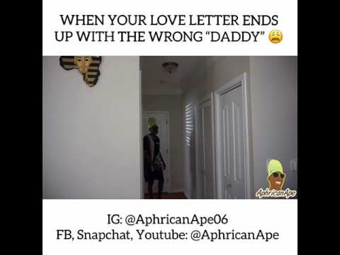 Love letter gone wrong