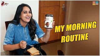 My Morning Routine | Ft Muscleblaze Peanut Butter | Movie Shoot ||