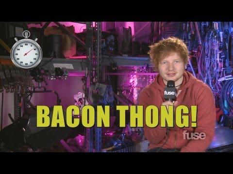 Ed Sheeran: I'll Wear Bacon, Hug Justin Bieber at the BRIT Awards
