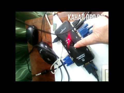 обзор KVM Switch