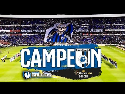 Así se vivió #GallosBlancos #SiempreGallos Campeones Copa MX - La Resistencia Albiazul - Querétaro