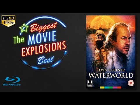The Best Movie Explosions: Waterworld (1995) Tanker Explosion (edited)
