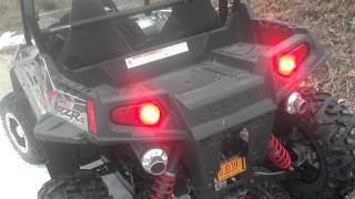 9. POLARIS RZR S 800 LTE LOONEY TOONES DUAL EXHAUST