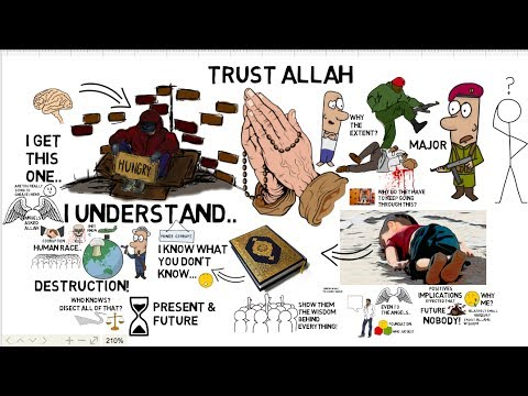 HOW TO TRUST IN ALLAH'S PLAN - Omar Suleiman Animated