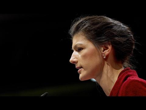 Сара Вагенкнехт о Трампе, Меркель, НАТО, АдГ и кризисе с беженцами [Голос Германии]