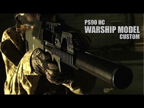 laylax - 近代PMCスタイルにタクティカルマッチする「P-90」をさらに近代化改修し、剛性・消音・弾倉・拡張性を大幅に強化。これぞまさしく弩級戦艦クラスの「P-90」近未来カスタム「WARSHIP...