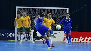 Video THAILAND vs AUSTRALIA: AFC Futsal Championship 2016 (Quarter Finals) MP3, 3GP, MP4, WEBM, AVI, FLV Mei 2017