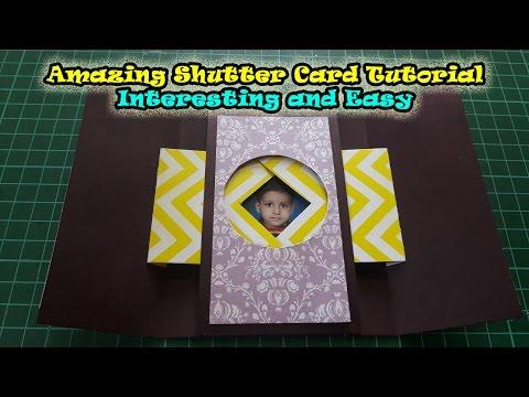 Shutter Cards Tutorial