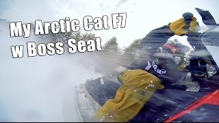 2. Arctic Cat F7 Boss Seat Review