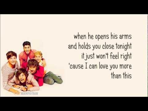 One Direction - More Than This [karaoke/instrumental] + Download Link