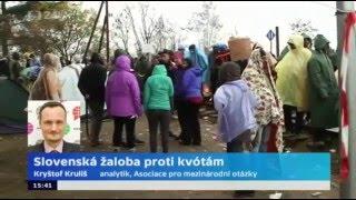 Slovenská žaloba proti kvótám