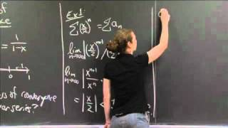 Ratio Test -- Radius Of Convergence | MIT 18.01SC Single Variable Calculus, Fall 2010