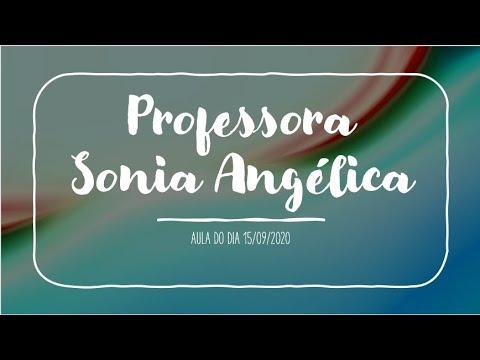 AULA DO DIA 15/09/2020 Professora Sonia Angélica
