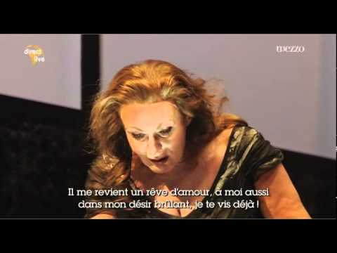Wagner - Die Walküre. Du bist der Lenz. W. Meir, S. O'Neil; D. Barenboim. Scala, 2010