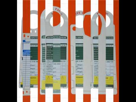 Scaffold Tag And Ladder Tag