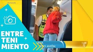 Laura Bozzo arma tremendo escándalo dentro de un avión | Un Nuevo Día