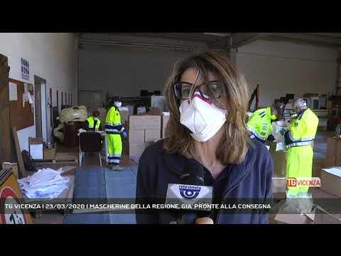 TG VICENZA | 23/03/2020 | MASCHERINE DELLA REGIONE, GIA' PRONTE ALLA CONSEGNA