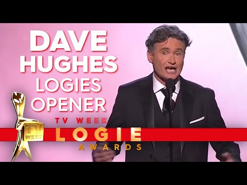 Dave Hughes Opens The 2018 TV Week Logies | TV Week Logie Awards 2018