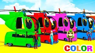 Learn Colors Helicopters on Bus with Superheroes Cartoon Animation for KidsLearn Colors With Soccer Balls for Children - Colors Balloons Ballshttps://www.youtube.com/watch?v=UqcSlE-NQo8Learn Colors for Kids with 3D Lightning McQueenhttps://www.youtube.com/watch?v=PB7xPmWeXtQOFFROAD TRUCK & FUN MONSTER TRUCK - Superheroes Cars Cartoonhttps://www.youtube.com/watch?v=aUJq_aDctu4Learn Colors Fun Cars w Superheroes Cartoon Animation for Babieshttps://www.youtube.com/watch?v=HptlIpaxHA4Colors for Kids Big Bus with Fun Superheroes Cartoon For Toddlershttps://www.youtube.com/watch?v=wklkZ7p55Xc
