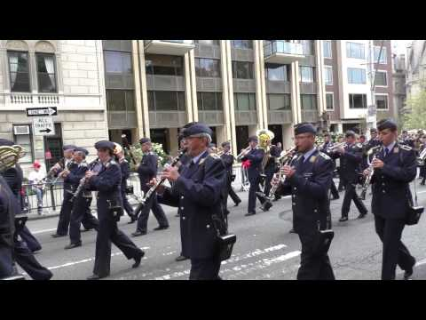 Steuben Parade~2014~NYC~ German Air Force Marching Band~NYCParadelife