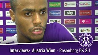 Die Stimmen nach dem Spiel zwischen der Austria und Rosenborg BK