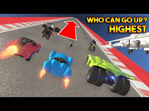 GTA 5 ONLINE : WHO CAN GO HIGHEST?