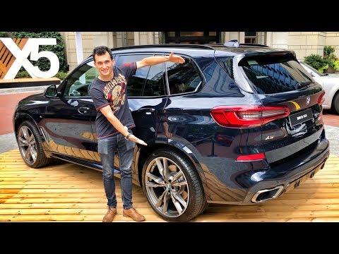 НОВЫЙ BMW X5 G05 (!!!) Первый обзор! 4 ТУРБЫ?! Тест-драйв в США, Атланта. X5 M50D. (видео)