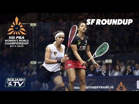 Squash: CIB PSA Women's World Champs 2019/20 - SF Roundup
