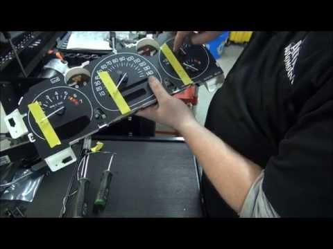 how to repair gm gauge cluster