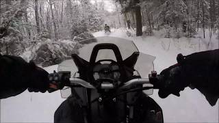 10. Trying out my Skidoo Backcountry 850!
