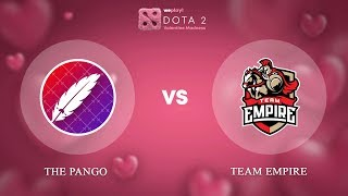 The Pango vs Team Empire - RU @Map2 | Dota 2 Valentine Madness | WePlay!