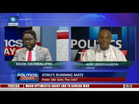2019 Election: The Battle For The Soul Of Nigeria |Politics Today|