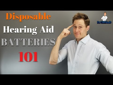 Disposable Hearing Aid Batteries 101 |  Which Hearing Aid Batteries Are Best?