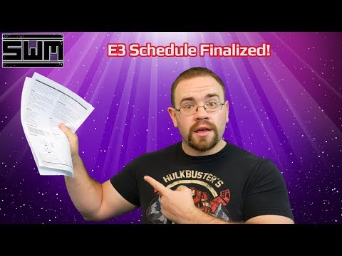 News Wave! - The Streaming Schedule For E3 Is Finalized! Let