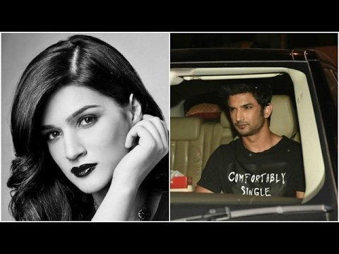 Did Kriti Spend Her Valentines Alone? | Sushant We