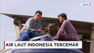 Air Laut Indonesia Tercemar