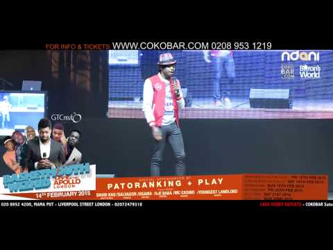 BASKETMOUTH - FITNESS OF THE HAND - BASKETMOUTH LIVE AT THE APOLLO - 14TH FEB 2015