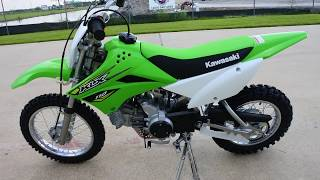 6. $2,299:  2018 Kawasaki KLX110 Dirt Bike Overview and Review