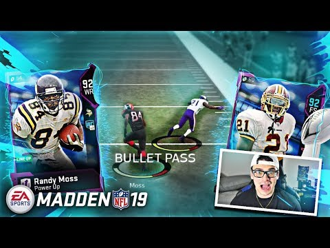 GOD SQUAD BREAKS SUPER BOWL RECORD! ALL MADDEN SUPER BOWL REWARD! Madden 19 Ultimate Team Gameplay (видео)