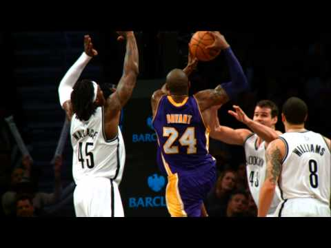 Kobe Posterizes the Brooklyn Nets