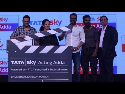 FULL PC: Ajay Devgan | Suniel Shetty At Launch Of Tata Sky Pioneering Initiative