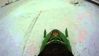 8. Arctic Cat F5 in powder